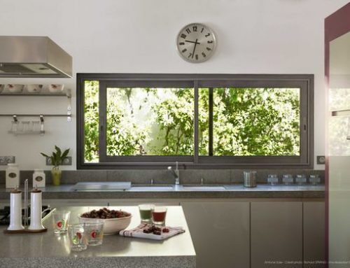 U-pvc sliding windows