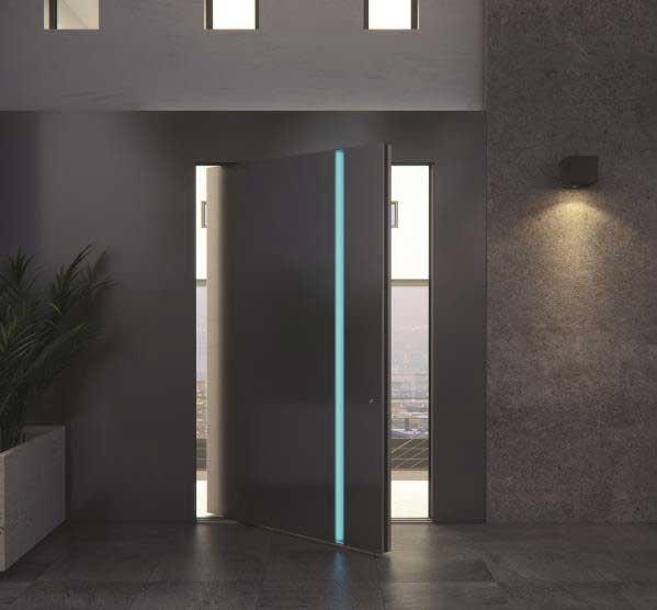 Axon & Flat Line Entrance Doors